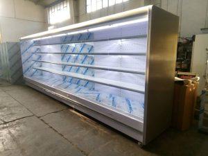 یخچال پرده هوا ایستاده متری فروشگاهی